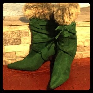 Green with Envy Boots...made for styling!